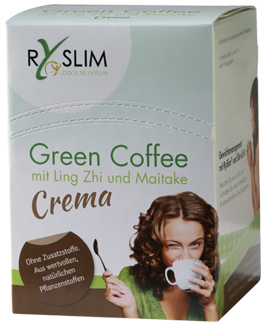 RySlim Crema Green Coffee, Pilzkaffee