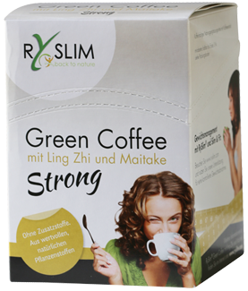 RySlim Strong Green Coffee, Pilzkaffee