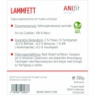 Lammfett 200g (1 Package)